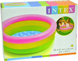 Inflatable Bathtub For Toddlers India by Intex Water Tub Inflatable Pool 4ft Diameter Baby Bath Seat Price