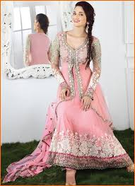 Latest Simple Dresses Designs For Wedding 2015
