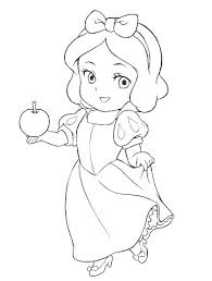 Exclusive Baby Princess Coloring Pages Daisy Disney