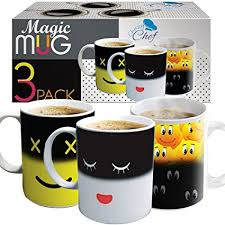 Heat Sensitive Coffee Magic Mugs