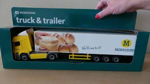 Morrisons UK Semi Trailer Truck Toy - YouTube 64 Intertional Prostar Truck W Spread Axle Canvas Trailer Matchbox Jim Beam 200th Anniversary Tractor Ebay Toy Semi Stock Photos 33 Images And Flat Grandpas Toys 187 Die Cast Man With Freezer Trailerpromotion Trucks N Stuff Ho Sp026 Kenworth W900l Sleeper Cab With 53 Moving Majorette Nasa Car Big Rig Milk Walmartcom Farm Peterbilt 367 Lowboy Lp67438 132 Semis Action Dunkin Donuts Collector Toy Di Cast Truck Semi Tractor Trailer