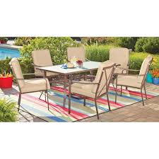7 Piece Patio Dining Set Walmart by 46 Best Outside Patio Sets U0026 Outdoor Furniture Images On Pinterest