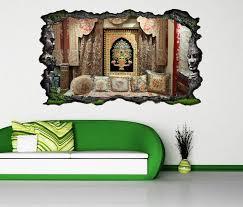 3d wandtattoo zimmer orientale mediterran asiatisch selbstklebend wandbild wandsticker wohnzimmer wand aufkleber 11o1323 wandtattoos und