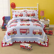 Cotton Fire Truck Quilt Set   Products   Pinterest   Fire Trucks Plastic Fire Truck Toddler Bed Rail Fun Carters Toddlers 4 Pc Bedding Set Bepreads Home Childrens Twin Sets Designs Amazoncom Piece Crib Matching Nursery Crest Adore 2 Comforter Boys Cars Trucks Bedspread Trains Airplanes Boy Bag Kids Club Dumper Design Quilt Cover Blue Red 5pc In A Bedroom Fair Decoration