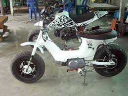 Modifikasi Retro Honda ScoopyGambar ScoopyFoto ScoopyBy Default Only Scoopy Hondas Appearance Has Been