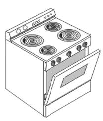 28 Collection Of Gas Cooker Drawing