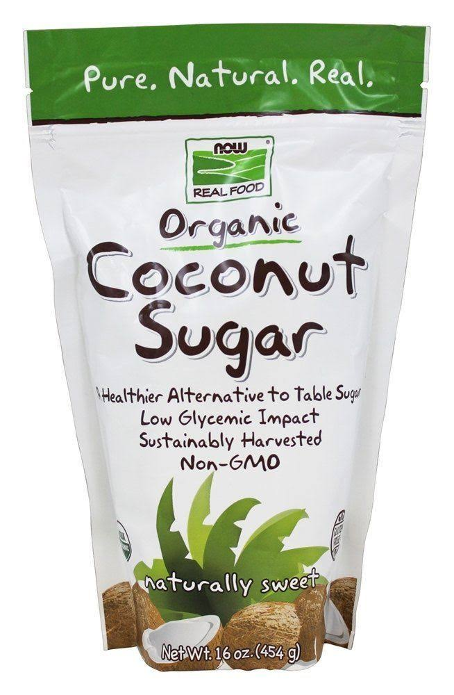 Now Foods Real Food Organic Coconut Sugar - 16oz