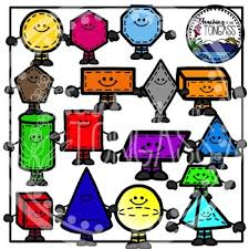 Shapes Clipart Smiley Version