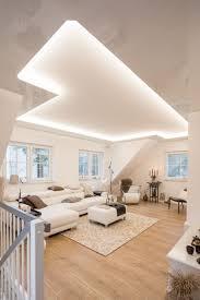 wohnzimmer decke weiß beleuchtung wohnzimmer decke