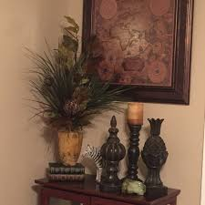 British Colonial Office Tropical Decor