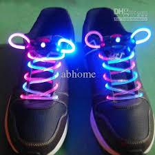 2018 led shoelace light up shoe laces laser shoelaces