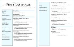 2 Page Resume Examples Best Templates