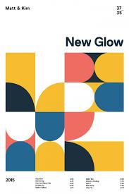 Matt And Kim New Glow Minimalist Poster Design