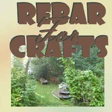 Garden Art Rebar For Crafts Using This Metal Construction Rod Rustic