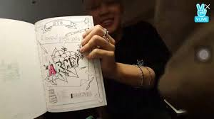 BTS Has Their Own Coloring Book Released With The 3rd Muster Which Included Drawings From Members Themselves I Would Love To Share Them You But