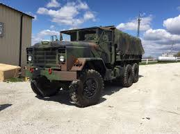 100 5 Ton Army Truck 2008 Rebuild Military Cargo M923a2 With Cargo Cover SOLD