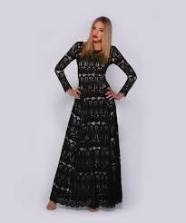 integrity boutique lace dress with lining
