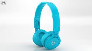360 view of Beats Mixr High Performance Professional Light Blue 3D