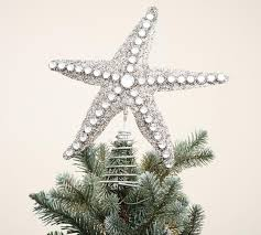 Glitter Starfish Tree Topper | Pottery Barn AU Pottery Barn Coral Starfish Cheese Knives Spreaders Set Of 4 New Cluster Ornament Au Area Rugs Awesome Coastal Rug Nautical Living Room Amazing Outdoor Glitter Tree Topper Coffee Tables Beach Style Floor Empire The Blues Blue Navy Shower Curtain Wall Ideas Decor Uk Art Pictures Large 16357 Curtains Rods India Bathroom Fniture Christmas At Cottage 2015 Family Roomkitchen