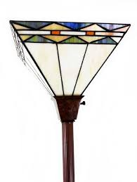 Bronze Torchiere Floor Lamp by 1 Tiffany Noir Mission Style Torchiere Floor Lamp With Vintage