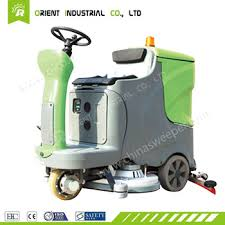 Commercial Floor Scrubbers Machines by Germany Technology Tile Ceramic Tile Glazed Outdoor Ride On Washer