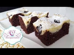 schoko schmand kuchen cikolatali labneli kek