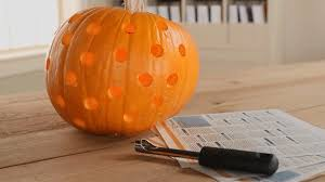Pumpkin Carving With Drill by Cool Pumpkin Carving Ideas