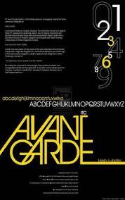 Avante Garde Type Face Poster Design 2