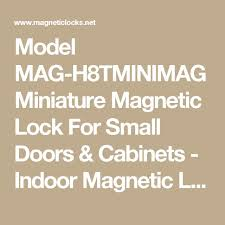 Magnetic Locks For Glass Cabinets by 25 Unique Magnetic Lock Ideas On Pinterest Diy Furniture With