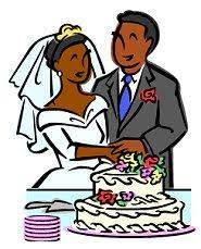 Wedding Cake clipart african american 8