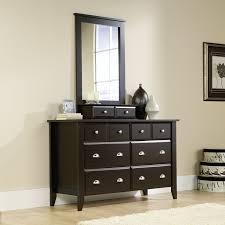 6 Drawer Dresser Cheap by Amazon Com Shoal Creek Dresser U0026 Mirror Set In Jamocha Wood
