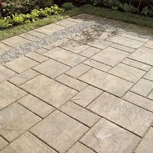 best 25 concrete paving slabs ideas on patio ideas