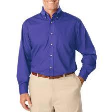 printed mens long sleeve stain release poplin dress shirts