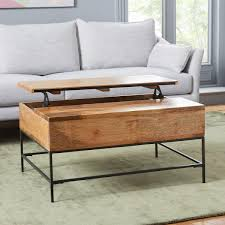 Industrial Storage Coffee Table Small 91 Cm West Elm UK