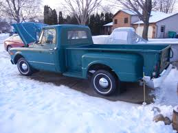 1967 Chevy Step-side Pickup - Extended Bed - 46,473 Miles - Original ...