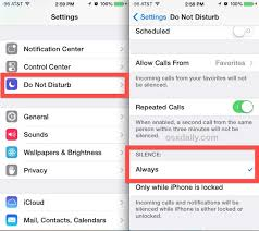 """Set """"Do Not Disturb"""" to Always Be Silent on the iPhone"""