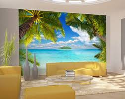 beach wall decals etsy
