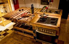 Shipping Pallet Kitchen Furniture Projects