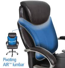 Tall Office Chairs Amazon by Amazon Com Serta Air Health And Wellness Executive Office Chair