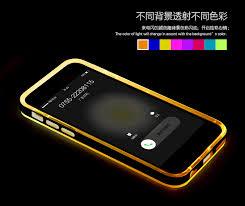 Apple iPhone 5 5S SE LED Light Tube Case Soft Silicon Case