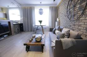 Post Industrial Apartment in Warsaw Exhibiting a Clean and Elegant