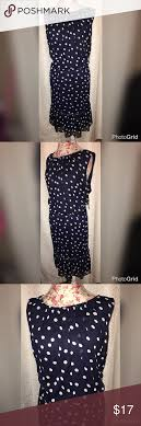 BRAND NEW DRESSBARN BLUE POLKA DOT DRESS SZ 20W This Beautiful ... Seeing Spots Ashley Graham Shows Off In Sheer Polka Dot Dress Best 25 Dot Long Drses Ideas On Pinterest Millie Dressbarn Archives My Life And Off The Guest List Closet Saledressbarn Polk Dress Bows Dots Brown Euc Barn Black Sz 10 Candy Anthony Gown Bride Bridal Bow Short Eclectic 93 Best Cporate Goth Images Clothing Closet Easter For Juniors The Plus Size Cute Wedding Country