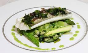 comment cuisiner le merlan de merlan à la vapeur d algue légumes sauté à cru par alain ducasse