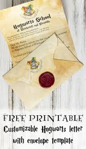 Harry Potter Birthday Invitations And Authentic Acceptance Letter