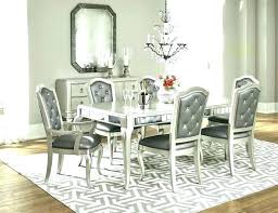 Set Of 8 Dining Chairs Round Dining Table Sets For 8 Round Dining