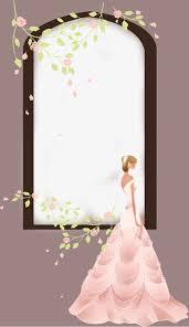 cadre photo mariage gratuit fleur de vigne cadre photo de mariage cadre photo robe de mariée