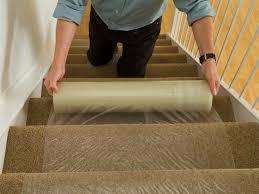 Plastic Carpet Protector Stair