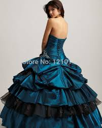 aliexpress com buy 2016 elegant peacock blue quinceanera dresses