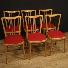 stühle sessel möbel design in holz e kunstleder rot wohnzimmer modern