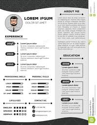 Resume And CV Template With Nice Design Stock Vector ... 5 Cv Meaning Sample Theorynpractice Resume Cv Lkedin And Any Kind Of Letter Writing Expert For 2019 Best Selling Office Word Templates Cover References Digital Instant Download The Olivia Clean Resumecv Template Jamie On Behance R39 Madison Parker Creative Modern Pages Professional Design Matching Page 43 Guru Paper Collins Package Microsoft Github Zachscrivenasimpleresumecv A Vs The Difference Exactly Which To Use Zipjob Entry 108 By Jgparamo My Freelancer